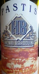Henri Bardouin pastis