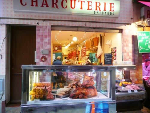 Charcuterie Ghibaudo in Vieux Nice